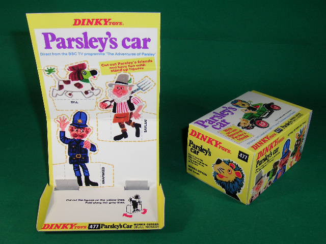 Dinky Toys #477 Parsley's Car.