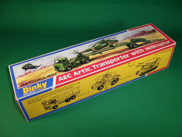 Dinky Toys #618 A.E.C. Transporter with Helicopter.