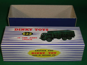Dinky Toys #622 10 - Ton Army Truck.