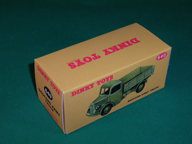 Dinky Toys #640 Bedford Army Truck.