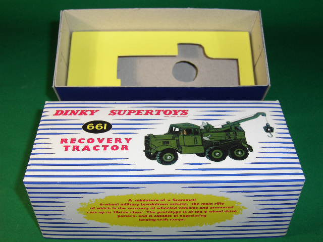 Dinky Toys #661 Recovery Tractor.