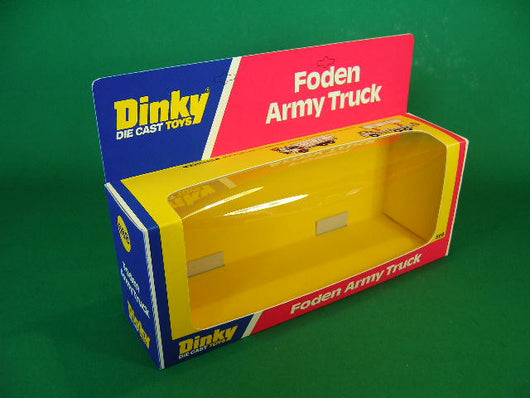 Dinky Toys #668 Foden Army Truck.