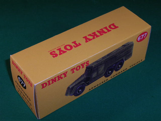 Dinky Toys #677 Armoured Command Vehicle.
