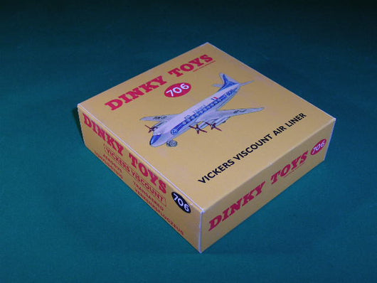 Dinky Toys #706 Vickers Viscount Air Liner - Air France.