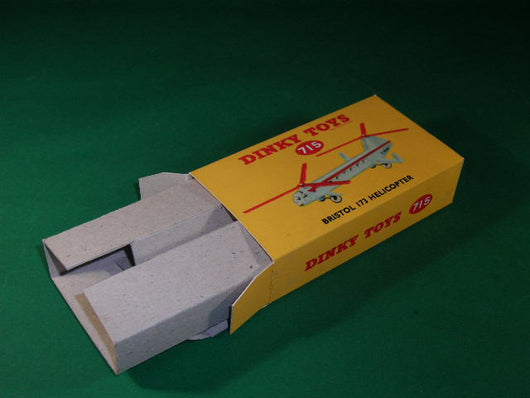 Dinky Toys #715 Bristol 173 Helicopter.