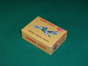 Dinky Toys #736 Hawker Hunter Fighter.