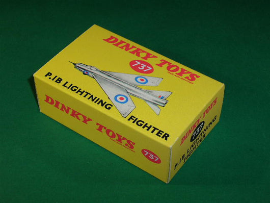 Dinky Toys #737 P.1B Lightning Fighter.