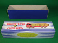 Dinky Toys #901 Foden Diesel 8-Wheel Wagon 2nd cab -stripes.