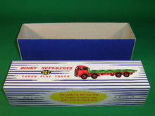Load image into Gallery viewer, Dinky Toys #902 Foden Flat Truck 2nd cab - stripes.