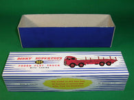 Dinky Toys #905 Foden Flat Truck with Chains 2nd cab -stripes.