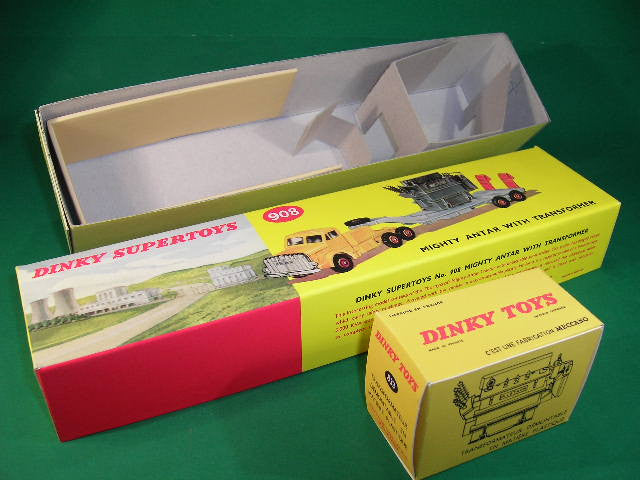 Dinky Toys #908 Mighty Antar Low Loader with Transformer.