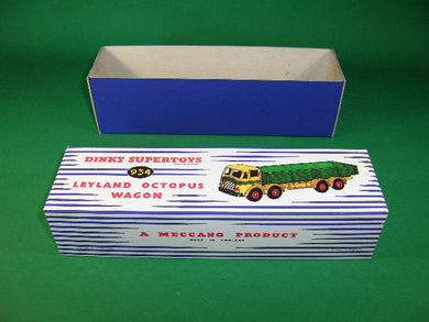 Dinky Toys #934 Leyland Octopus Wagon.