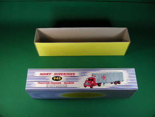Dinky Toys #948 Tractor - Trailer McLean.