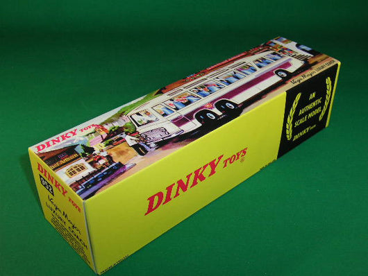 Dinky Toys #952 Vega Major Luxury Coach (with lights) - end flap type box.