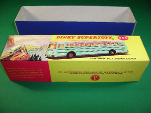 Dinky Toys #953 Continental Touring Coach.