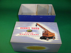 Dinky Toys #971 (#571) Coles Mobile Crane.
