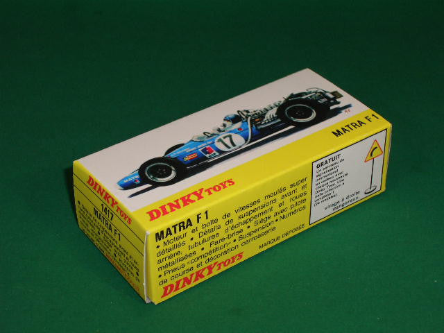 French Dinky Toys. #1417 Matra F.1 - 3 litre.