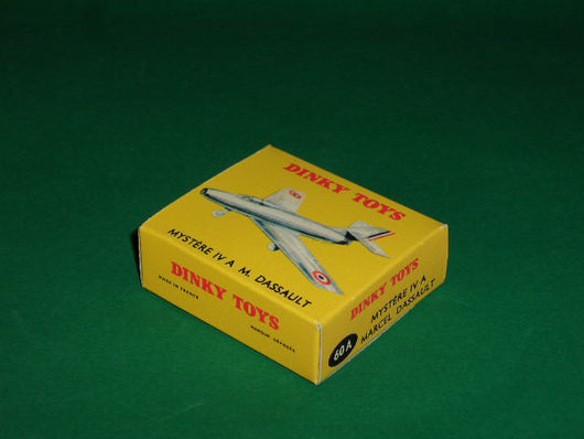 French Dinky Toys #800 (#60A) Dassault Mystere IV.