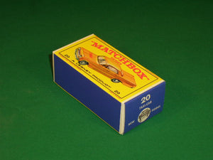 Matchbox 1-75 Regular Wheels #20c Chevrolet Impala Taxi.