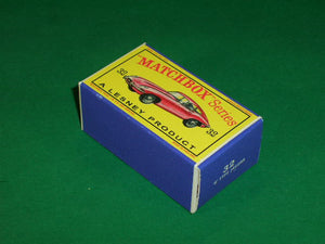 Matchbox 1-75 Regular Wheels #32b E' Type Jaguar.