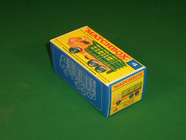 Matchbox 1-75 Regular Wheels # 4d Stake Truck.