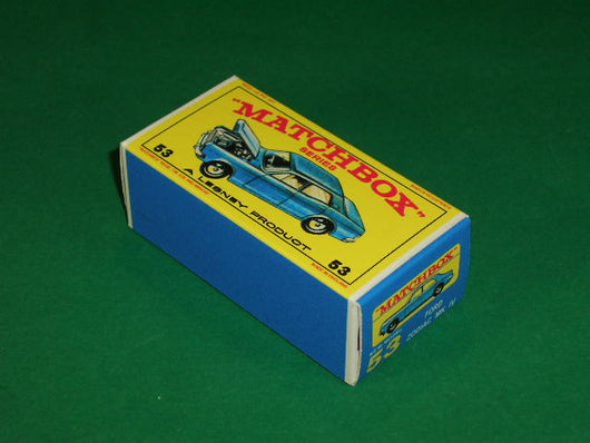 Matchbox 1-75 Regular Wheels #53c Ford Zodiac Mk. IV.