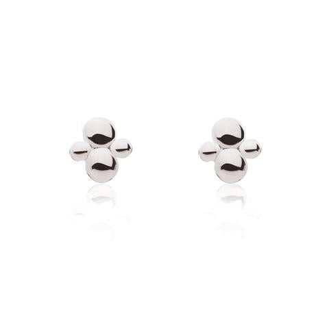 CLUSTER STUDS | SILVER (406271492135)