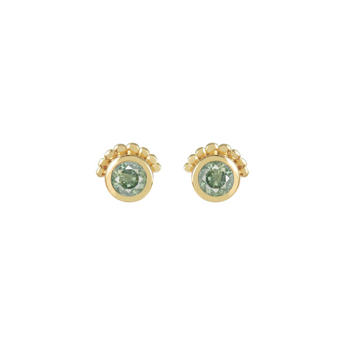 SAPPHIRE THEA EARRINGS | GOLD