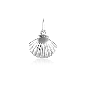 SCALLOP SHELL CHARM | SILVER (4746474324034)
