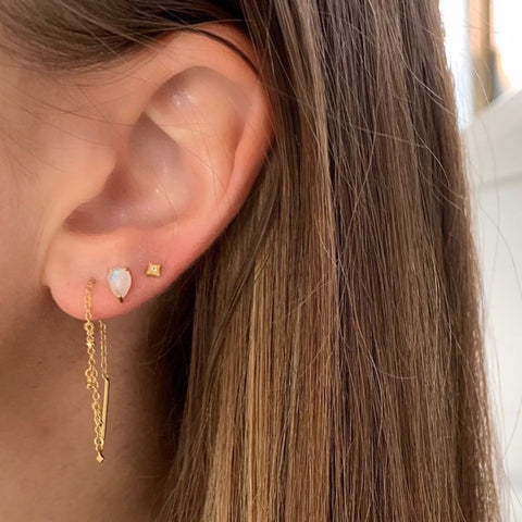 QUILA STUDS | GOLD
