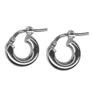 BLISS HOOPS 3.08 | SILVER
