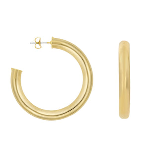 JILL HOOP EARRINGS | GOLD