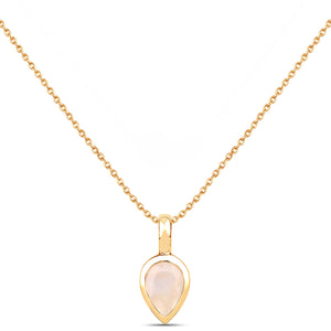 LOVE DROP NECKLACE | GOLD