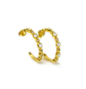 LINEAR HOOPS | GOLD