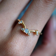 LUNA OPAL RING | GOLD