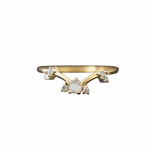 LUNA MOONSTONE RING | GOLD (1725289005122)