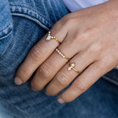 ON POINT RING | GOLD