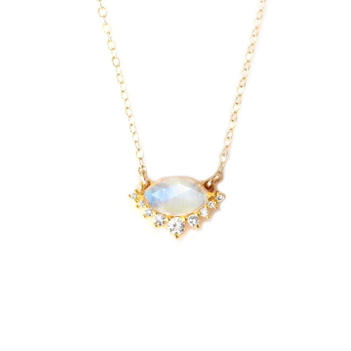 SILVER LININGS NECKLACE | GOLD