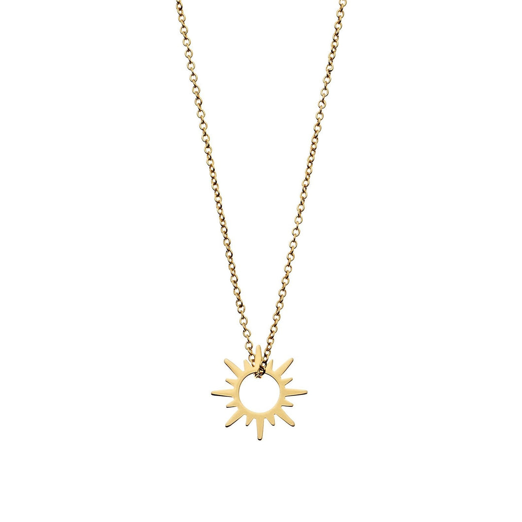 SUNSHINE NECKLACE | GOLD