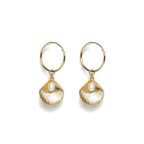 ULA HOOP EARRINGS | GOLD