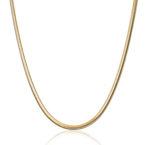 VIPER NECKLACE | GOLD (6566133203010)