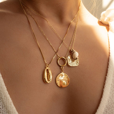 WREN NECKLACE | GOLD
