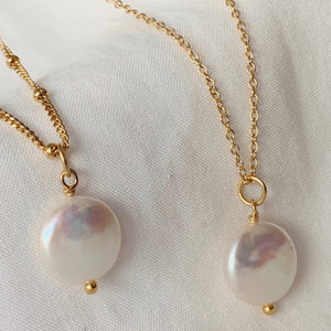 CHERISH PEARL CHARM | GOLD (4705668628546)