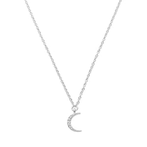 ECLIPSE NECKLACE | SILVER