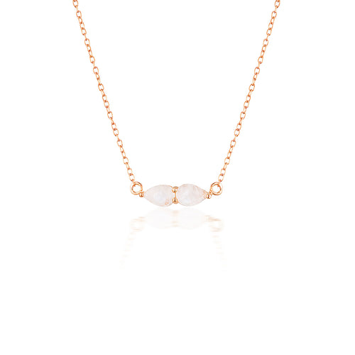 LUCINE NECKLACE | ROSE GOLD (1749401534530)