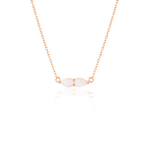 LUCINE NECKLACE | ROSE GOLD