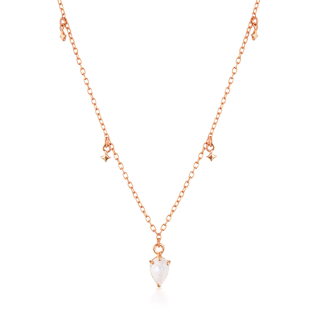 LYRA NECKLACE | ROSE GOLD