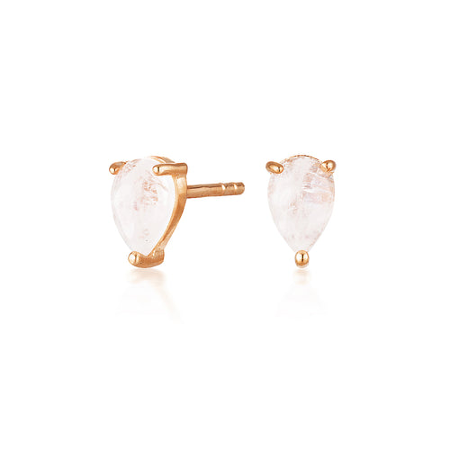 QUILA STUDS | ROSE GOLD