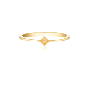 STARLIGHT PINKY RING | GOLD