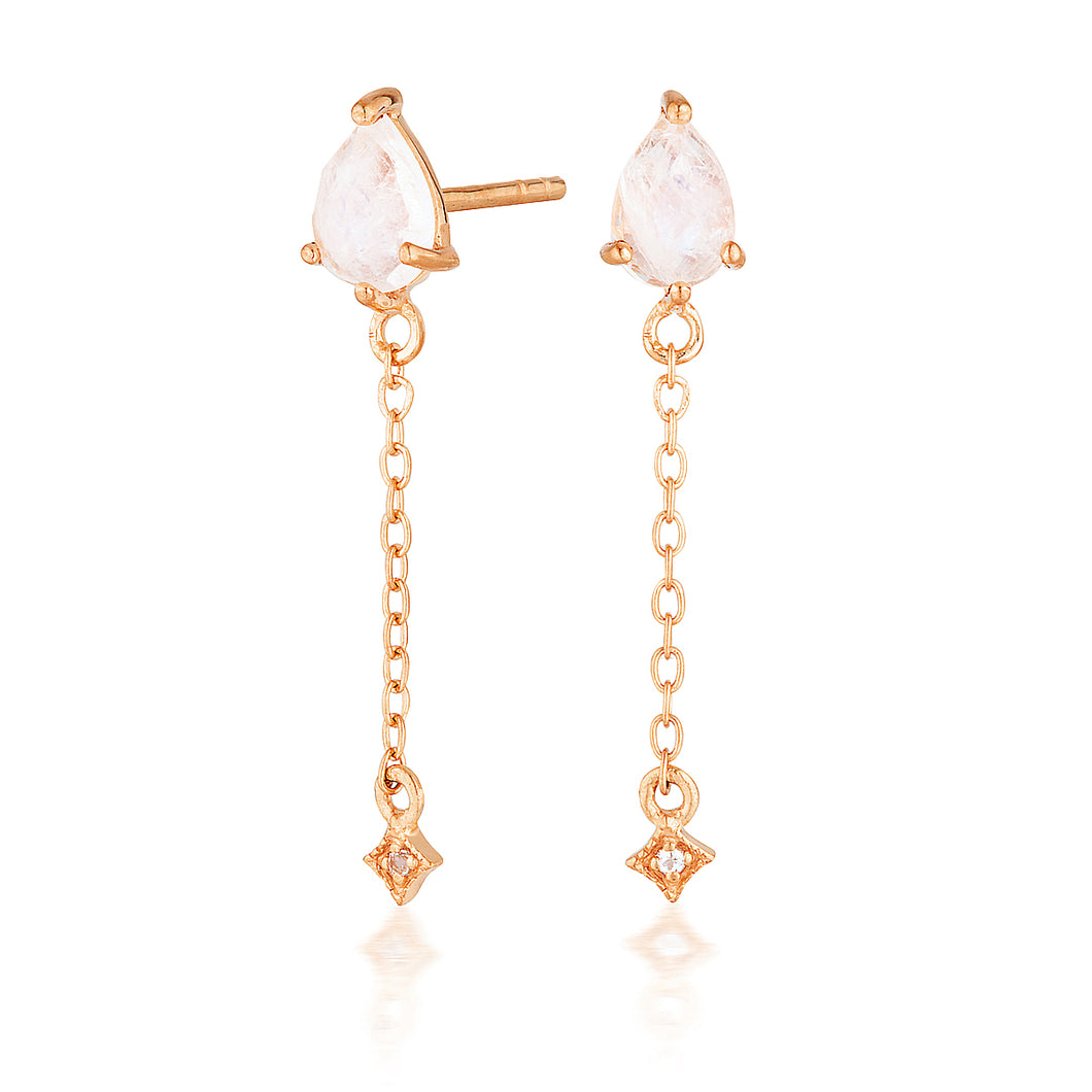 VEGA DROP EARRINGS | ROSE GOLD (1750589472834)